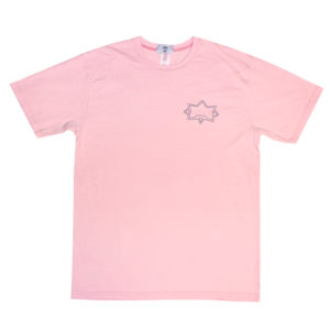 Citadel Aerial Tee - Faded Pink 1