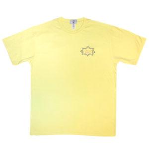 Citadel Aerial Tee - Faded Yellow 1